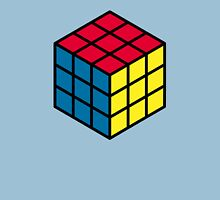 Rubik's cube hexagonal pattern Unisex T-Shirt