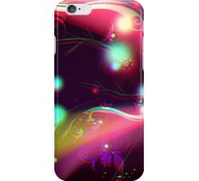 Colorful Vector Flourishes iPhone Case/Skin