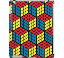 Rubik's cube hexagonal pattern iPad Case/Skin