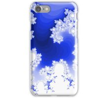 Abstract Blue Fractal iPhone Case/Skin