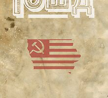 Iowa Commies Print by itsprestonm