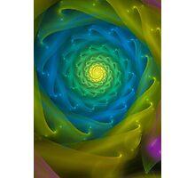 The illuminated spiral Photographic Print