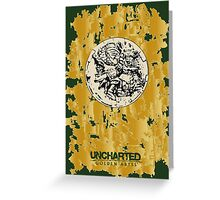 UNCHARTED: GOLDEN ABYSS Greeting Card
