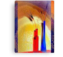 Crystallization of abstract reality Canvas Print
