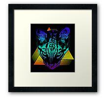 Rad Ocelot Framed Print