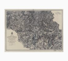 Civil War Maps 1107 Maps illustrating the military operations of the Atlanta campaign 1864 02 One Piece - Short Sleeve