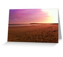 Ocean Grove at Sunset Greeting Card