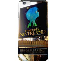 Finding Neverland Marquee iPhone Case/Skin