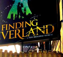 Finding Neverland Marquee Sticker