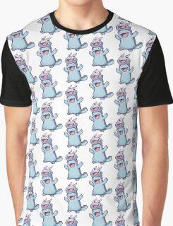 Unaware Goomy & Quagsire Graphic T-Shirt