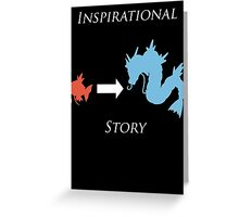Inspirational Story Greeting Card