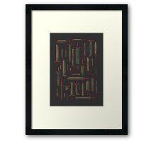 Bunch of Blades Framed Print