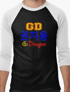♥♫Big Bang G-Dragon Cool K-Pop GD Clothing & Cases & Stickers & Bags & Home Decor & Stationary♪♥s♪♥ Men's Baseball ¾ T-Shirt