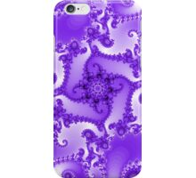 Abstract Purple Fractal Pattern iPhone Case/Skin