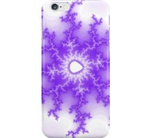 Abstract Purple Fractal iPhone Case/Skin