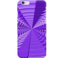 Abstract Purple Shapes Pattern iPhone Case/Skin