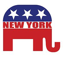 New York Republican Elephant by Republican