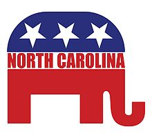 North Carolina Republican Elephant by Republican