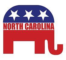 North Carolina Republican Elephant by Republican
