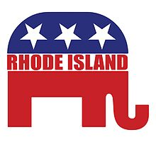 Rhode Island Republican Elephant by Republican