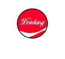 Enjoy Drinking Photographic Print