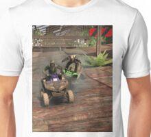 Rooftop Ridin' Unisex T-Shirt