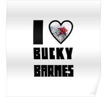 I Heart Bucky Barnes Poster