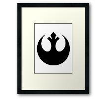Rebel Alliance Logo Framed Print