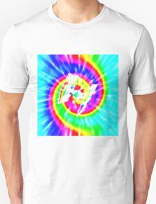 Tie Dye Tie Fighter - white Unisex T-Shirt