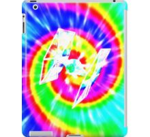 Tie Dye Tie Fighter - white iPad Case/Skin