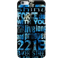 Fandom Motto iPhone Case/Skin