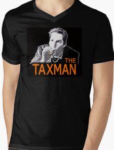 THE TAXMAN Mens V-Neck T-Shirt