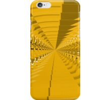 Abstract Yellow Pattern iPhone Case/Skin