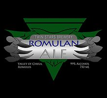 Fictional Brew - Romulan Ale by Amanda Mayer