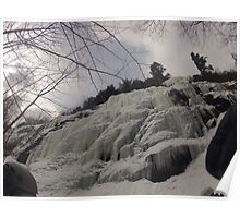 Bow Lake Ice Climb Poster