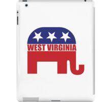West Virginia Republican Elephant iPad Case/Skin