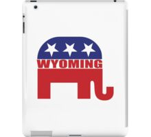 Wyoming Republican Elephant iPad Case/Skin