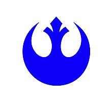 Rebel Alliance Logo Photographic Print