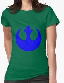 Rebel Alliance Logo Womens Fitted T-Shirt
