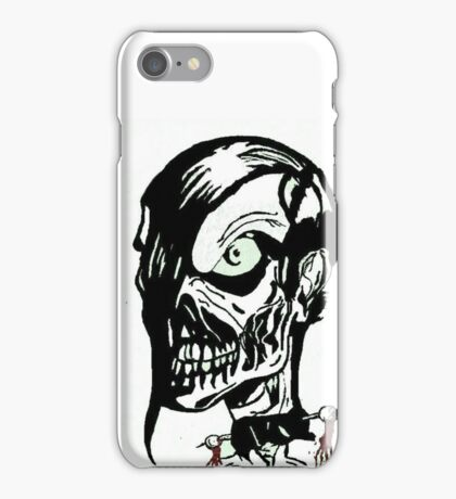 Misfits Skull Artwork iPhone Case/Skin