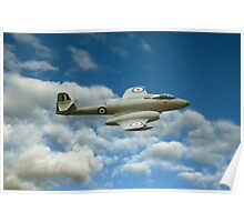 A77 Gloster Meteor Poster