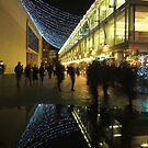 Christmas in London - South Bank lights by Themis