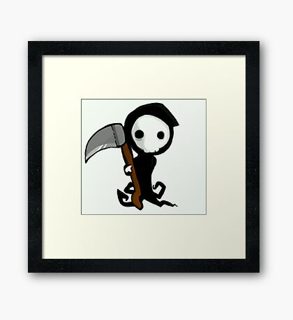 Chibi Death Framed Print