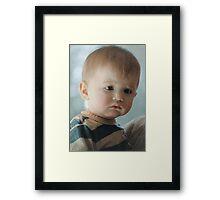 Liam... Framed Print