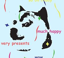 much doge birthday by W4rnings