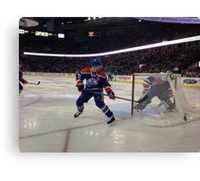 Edmonton Oilers vs. Minnesota Wild - Rexall Place Canvas Print