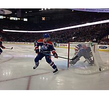 Edmonton Oilers vs. Minnesota Wild - Rexall Place Photographic Print