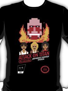 Attack On Titan Nintendo Cartridge T-Shirt