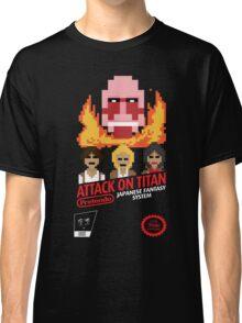 Attack On Titan Nintendo Cartridge Classic T-Shirt