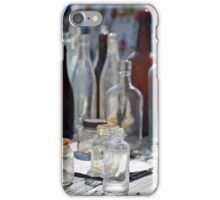 Antique bottles iPhone Case/Skin
